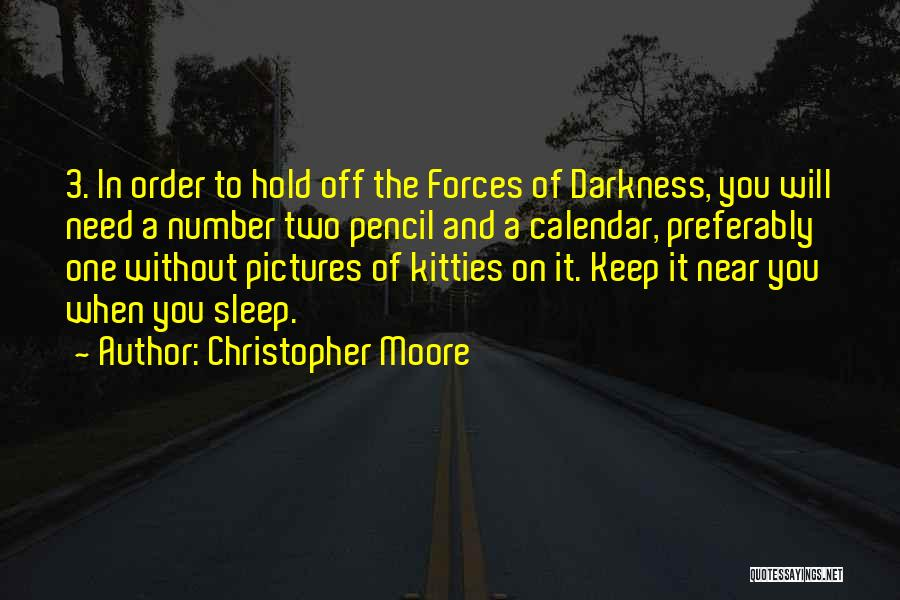The Number 3 Quotes By Christopher Moore