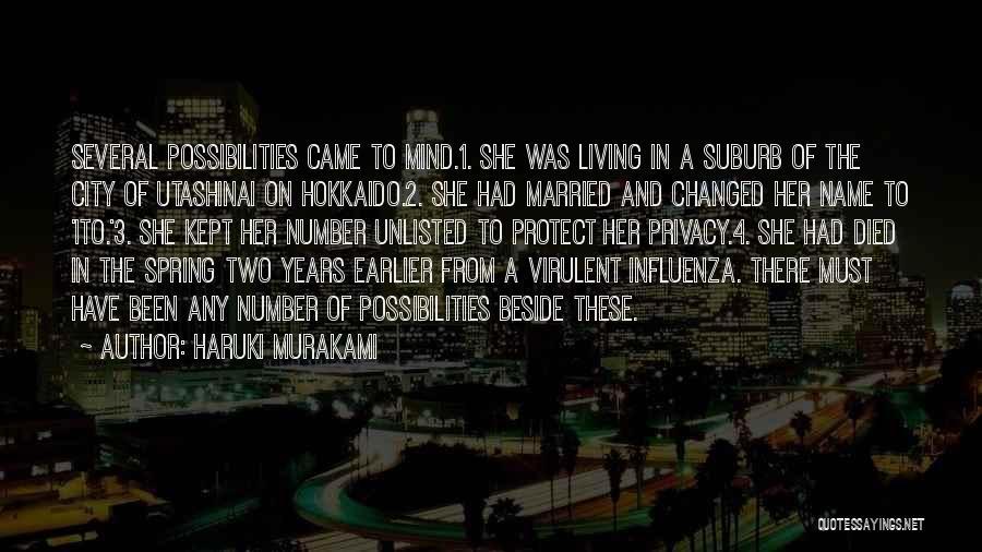 The Number 3 Quotes By Haruki Murakami