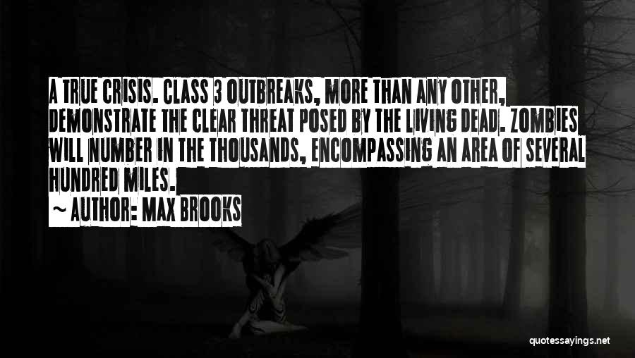 The Number 3 Quotes By Max Brooks