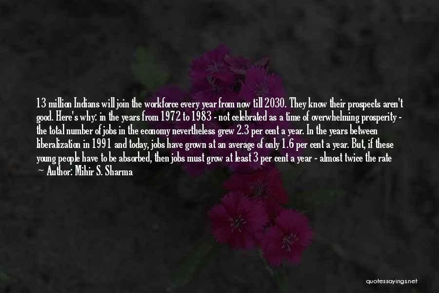 The Number 3 Quotes By Mihir S. Sharma