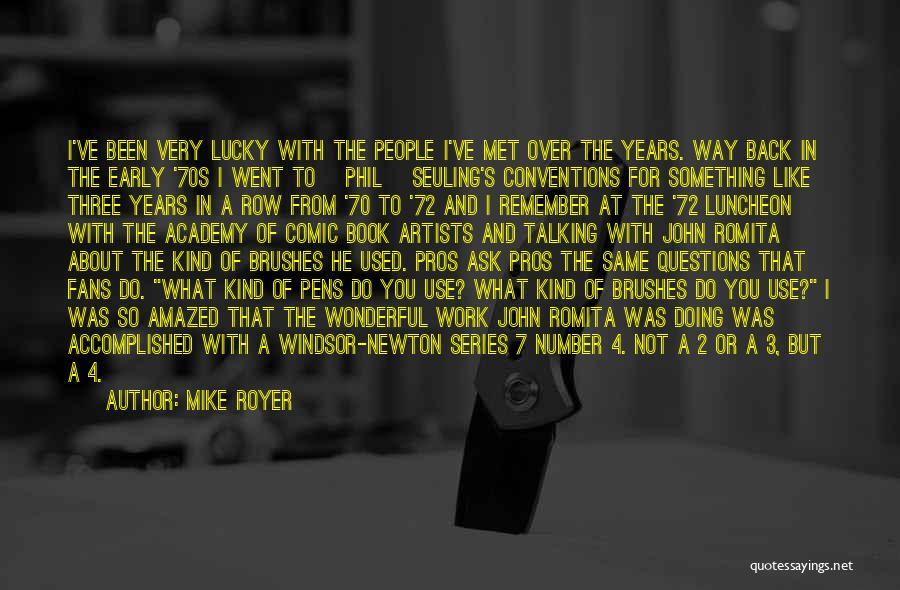 The Number 3 Quotes By Mike Royer