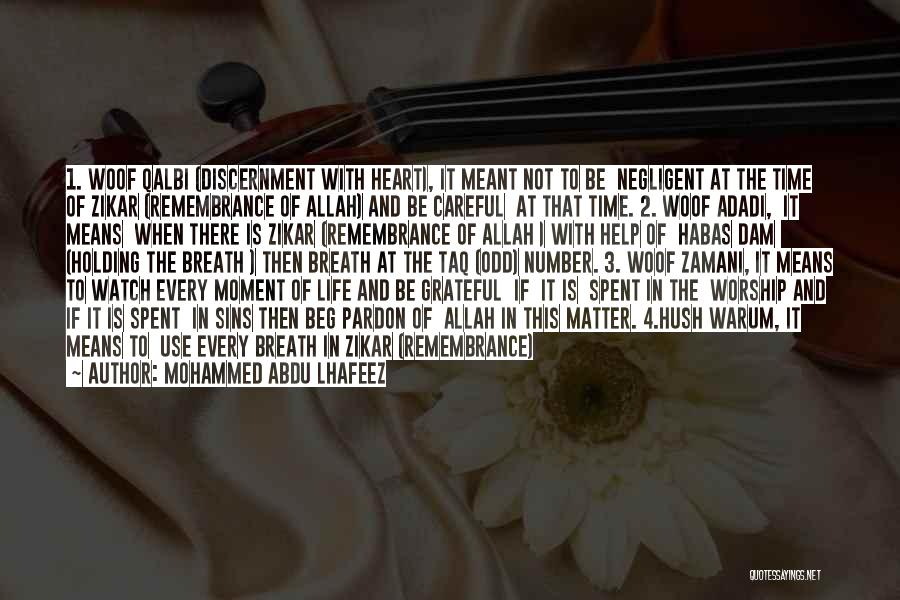 The Number 3 Quotes By Mohammed Abdu Lhafeez