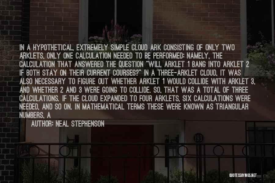 The Number 3 Quotes By Neal Stephenson
