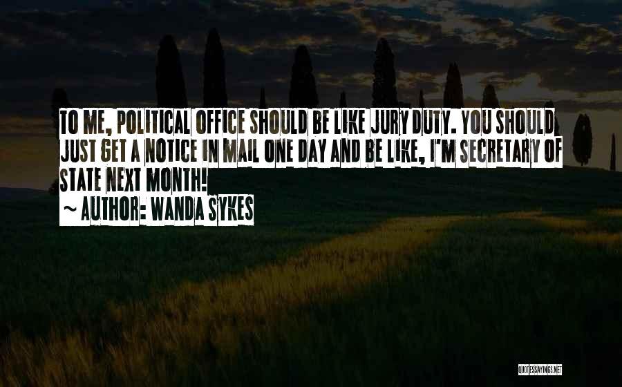 The Office Jury Duty Quotes By Wanda Sykes