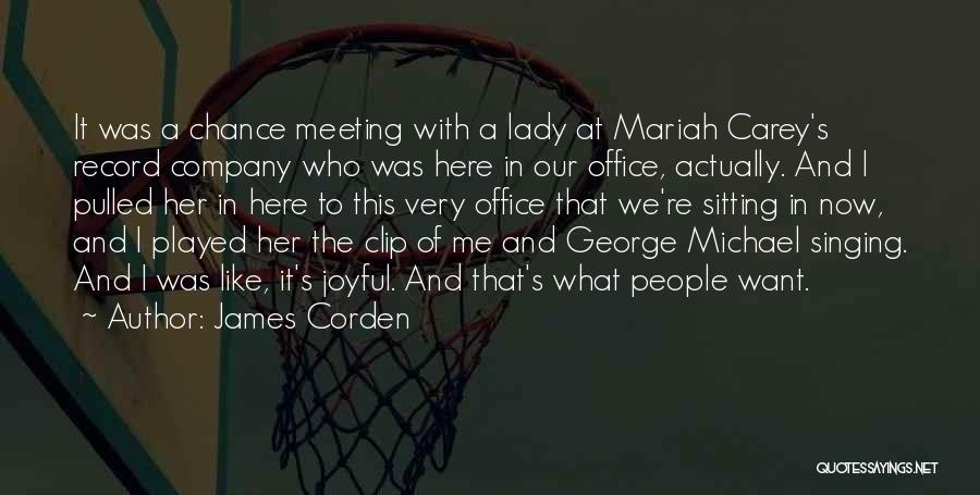 The Office Us Michael Quotes By James Corden