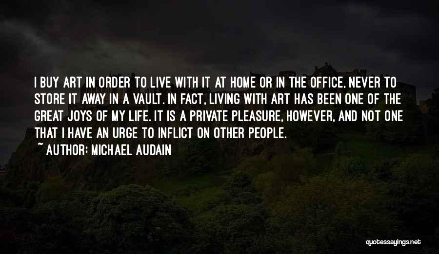 The Office Us Michael Quotes By Michael Audain