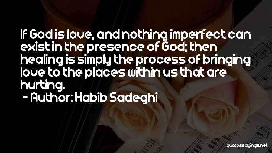 The One You Love Hurting You Quotes By Habib Sadeghi