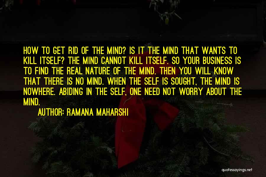 The One You Need Quotes By Ramana Maharshi