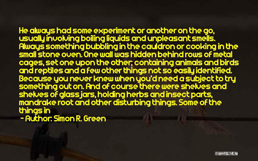 The One You Need Quotes By Simon R. Green