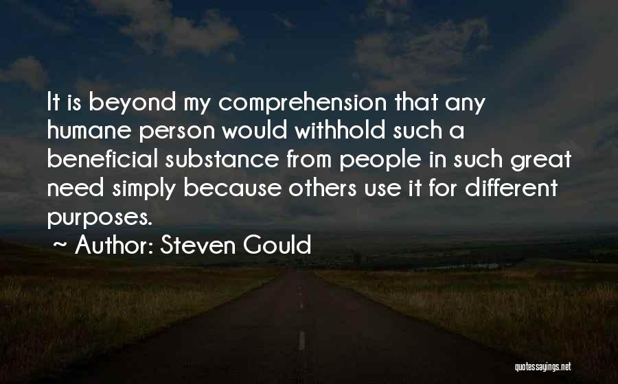 The Only Person You Need Is Yourself Quotes By Steven Gould
