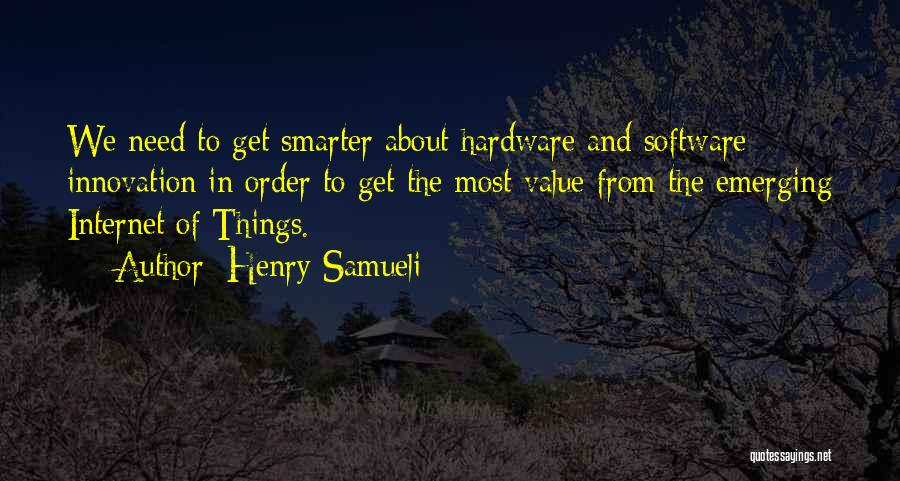 The Order Of Things Quotes By Henry Samueli