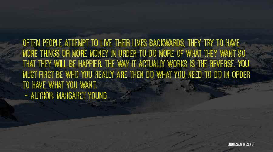 The Order Of Things Quotes By Margaret Young