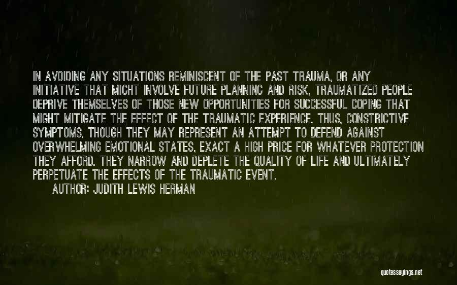 The Past Future Quotes By Judith Lewis Herman