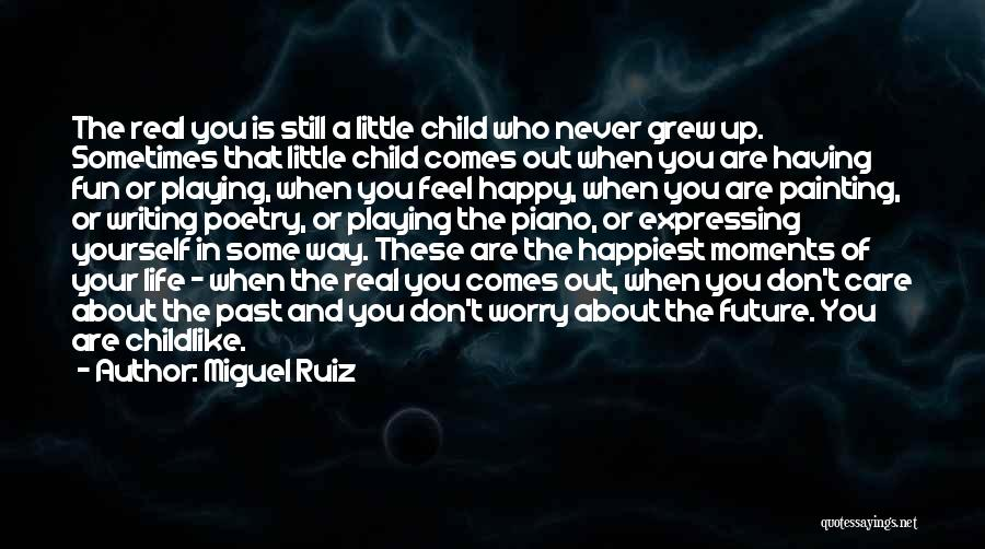 The Past Future Quotes By Miguel Ruiz