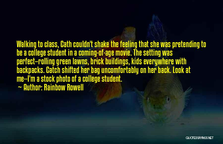The Perfect Catch Movie Quotes By Rainbow Rowell