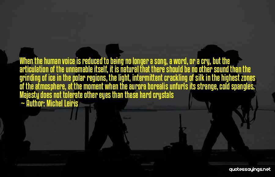 The Polar Regions Quotes By Michel Leiris