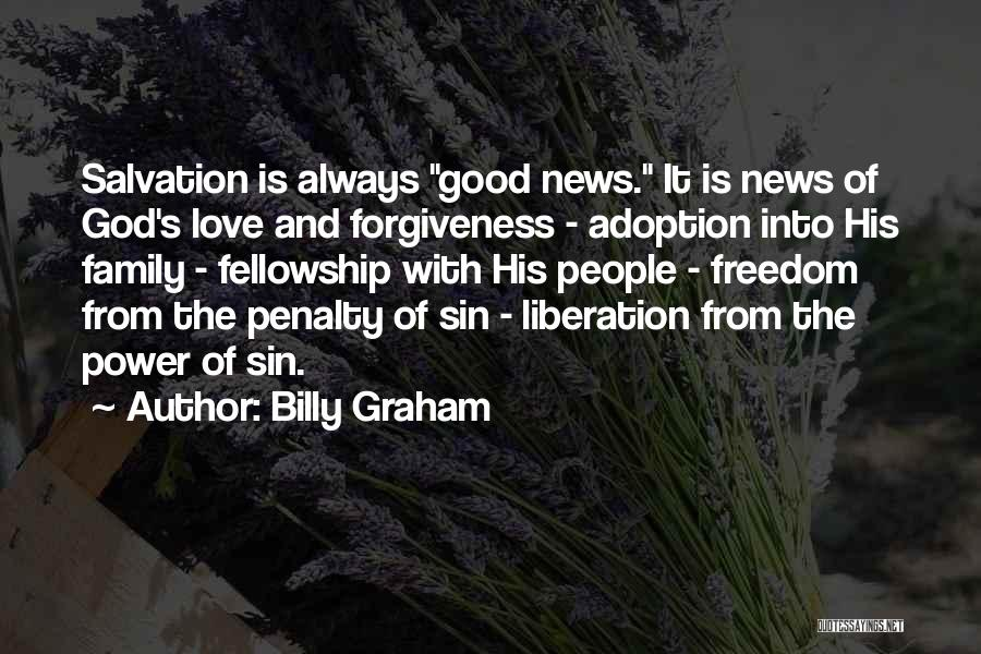 The Power Of Forgiveness Quotes By Billy Graham
