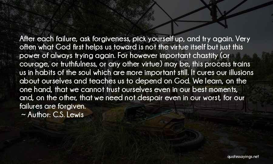 The Power Of Forgiveness Quotes By C.S. Lewis