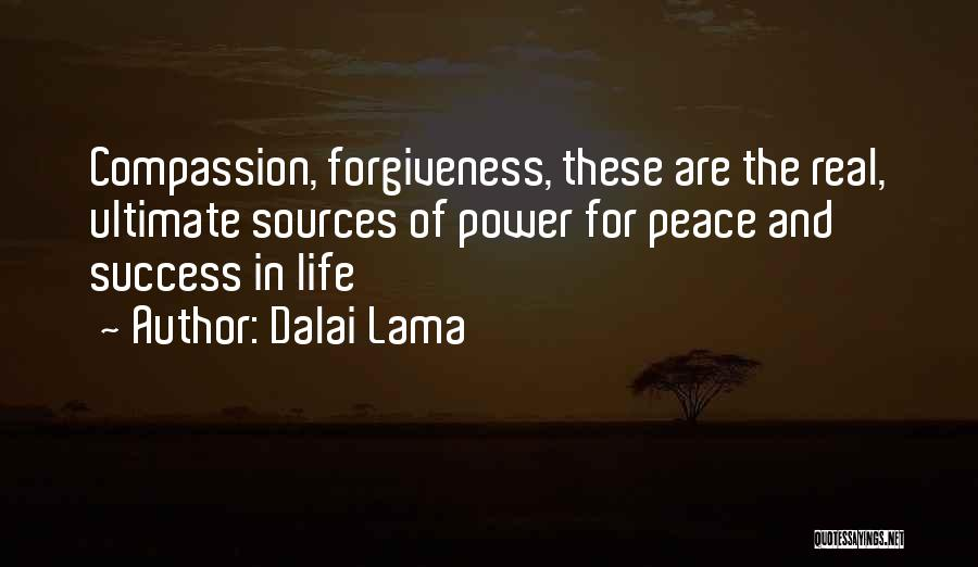 The Power Of Forgiveness Quotes By Dalai Lama