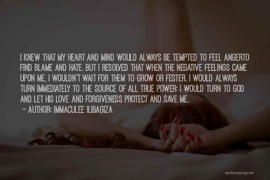 The Power Of Forgiveness Quotes By Immaculee Ilibagiza