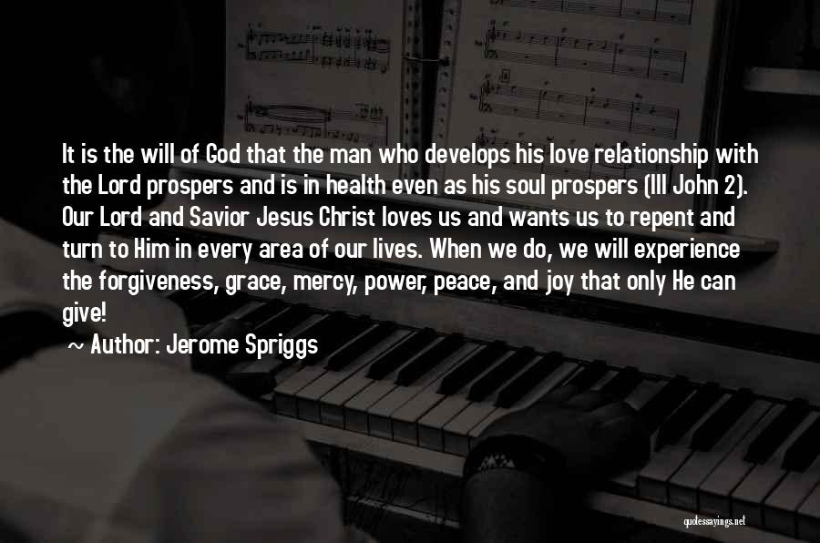 The Power Of Forgiveness Quotes By Jerome Spriggs