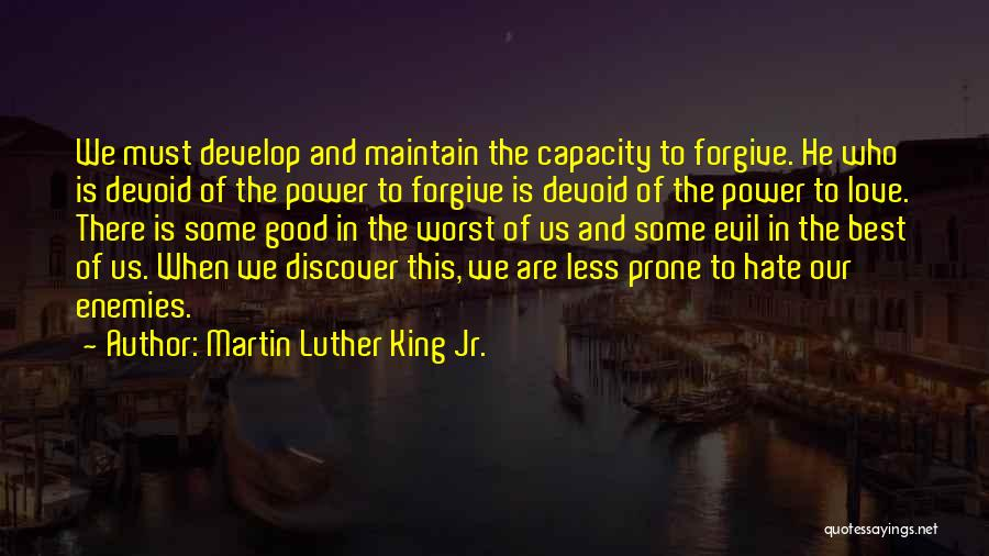 The Power Of Forgiveness Quotes By Martin Luther King Jr.