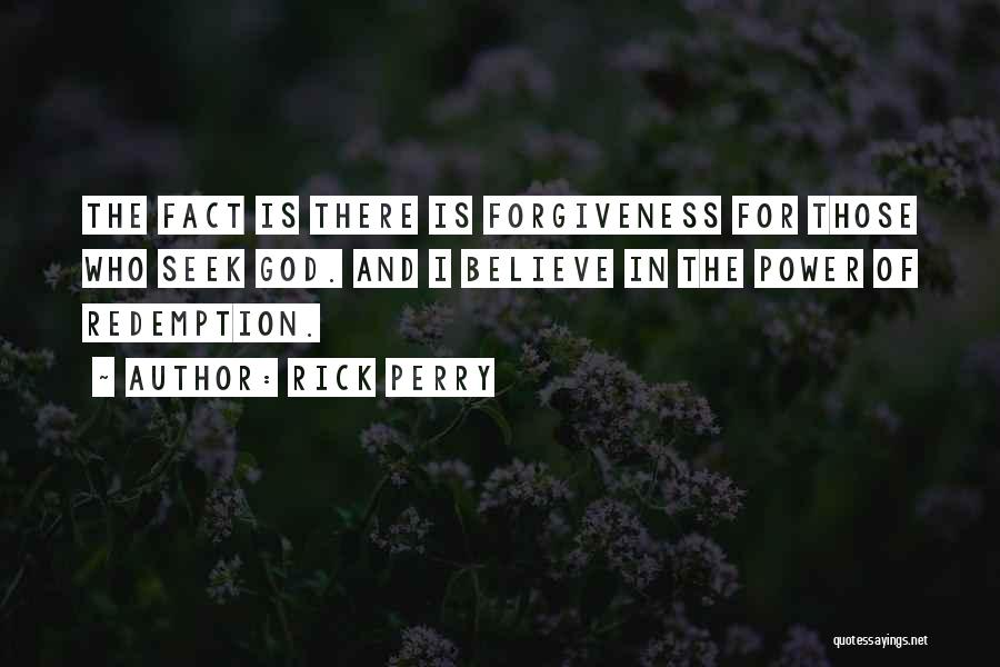 The Power Of Forgiveness Quotes By Rick Perry