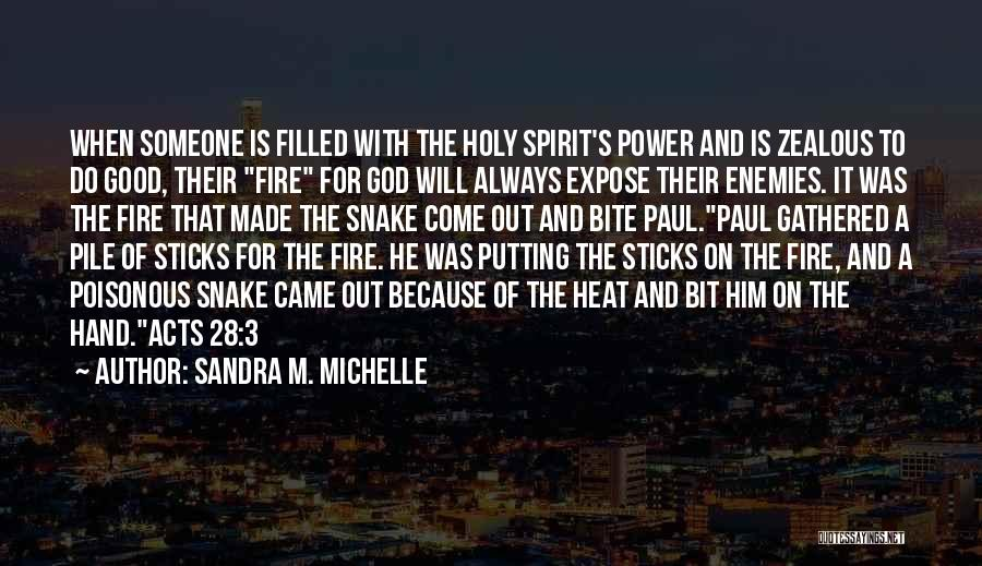 The Power Of Forgiveness Quotes By Sandra M. Michelle