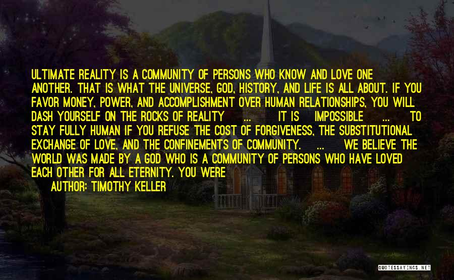 The Power Of Forgiveness Quotes By Timothy Keller