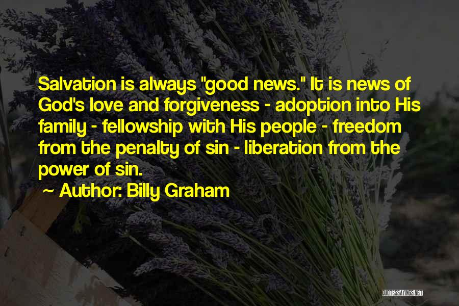 The Power Of God's Love Quotes By Billy Graham