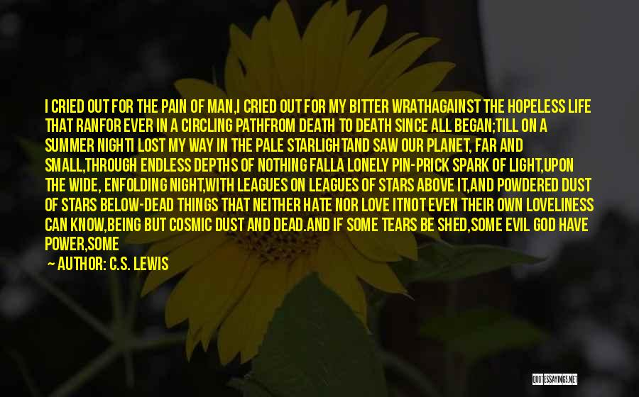 The Power Of God's Love Quotes By C.S. Lewis