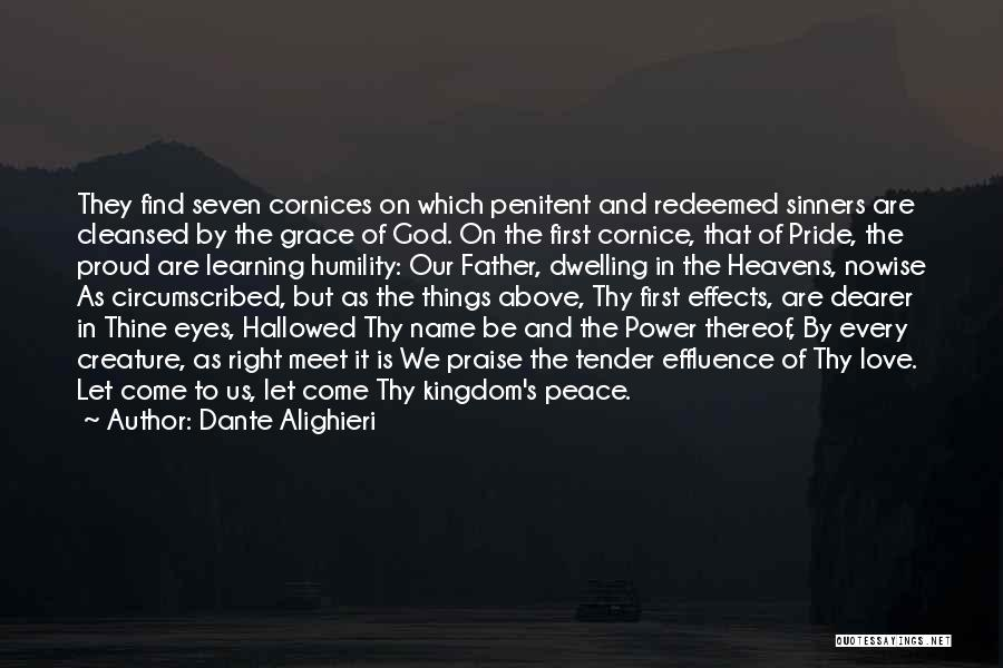 The Power Of God's Love Quotes By Dante Alighieri