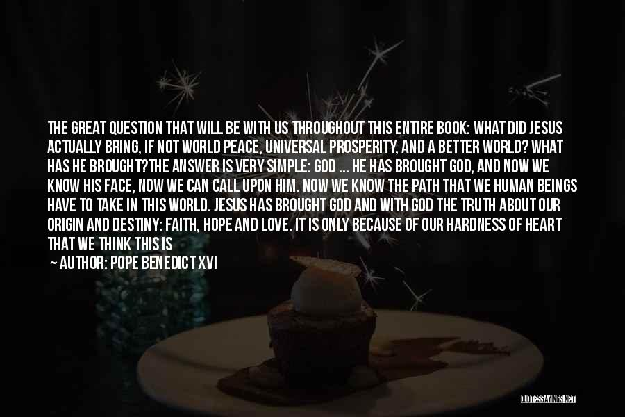 The Power Of God's Love Quotes By Pope Benedict XVI