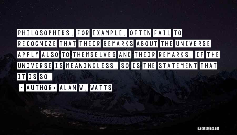 The Power Words Quotes By Alan W. Watts