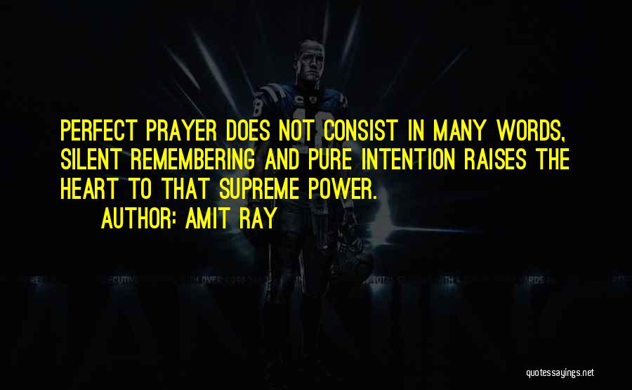 The Power Words Quotes By Amit Ray