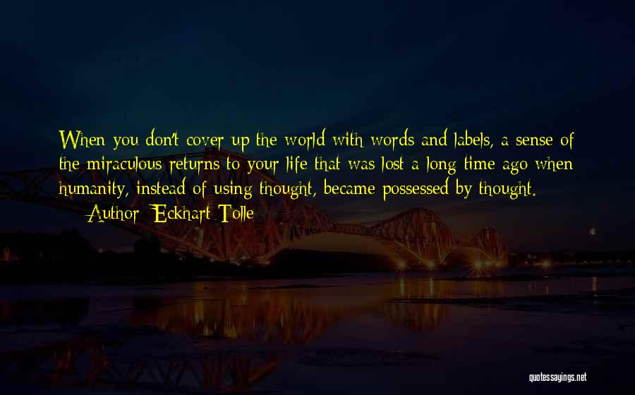 The Power Words Quotes By Eckhart Tolle