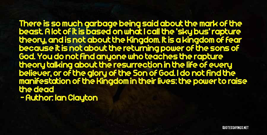 The Power Words Quotes By Ian Clayton