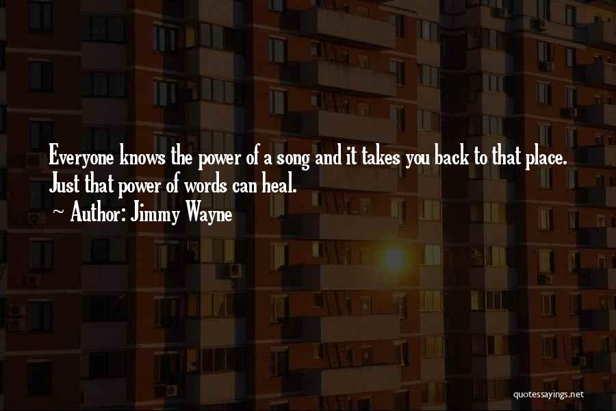 The Power Words Quotes By Jimmy Wayne
