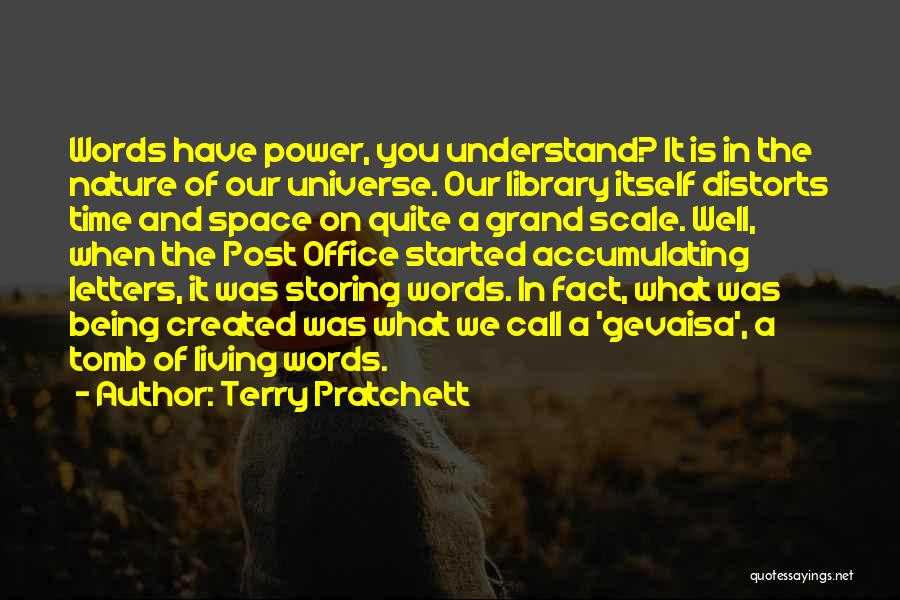 The Power Words Quotes By Terry Pratchett