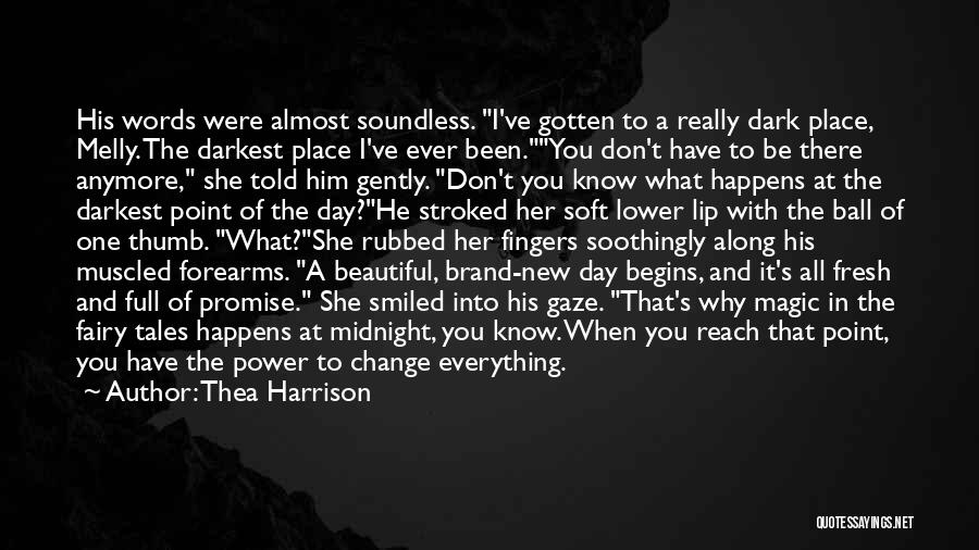 The Power Words Quotes By Thea Harrison