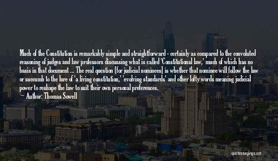 The Power Words Quotes By Thomas Sowell