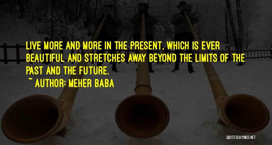 The Present Past And Future Quotes By Meher Baba