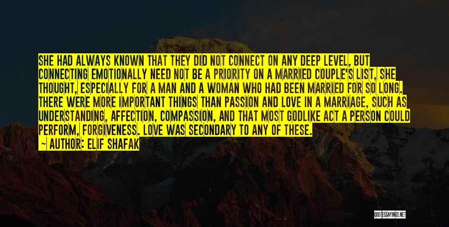 The Priority List Quotes By Elif Shafak