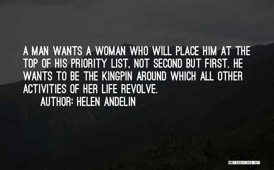 The Priority List Quotes By Helen Andelin