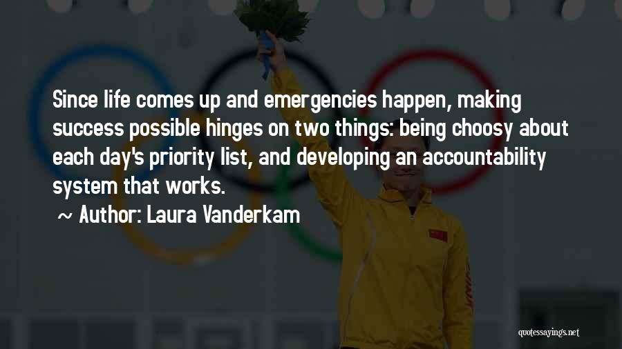 The Priority List Quotes By Laura Vanderkam