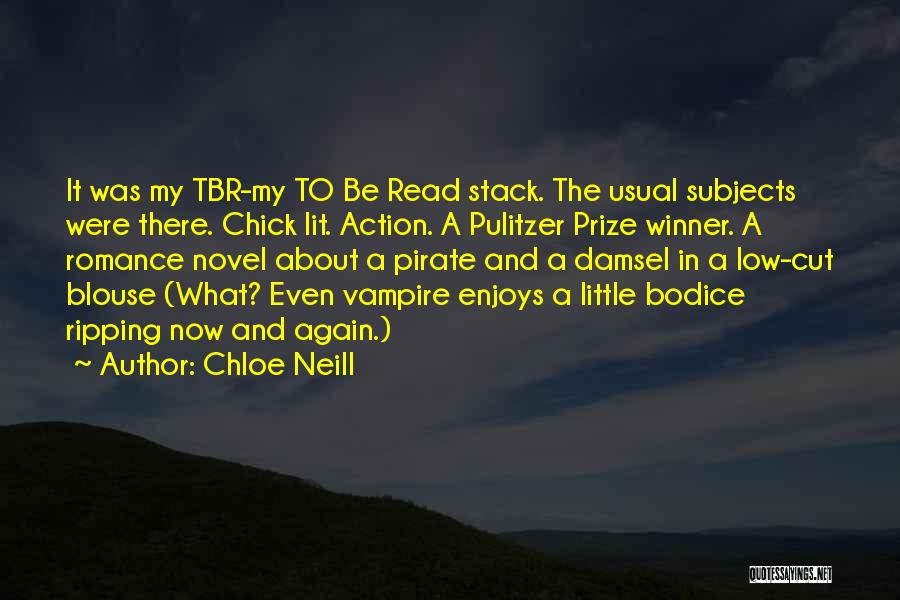 The Pulitzer Prize Quotes By Chloe Neill