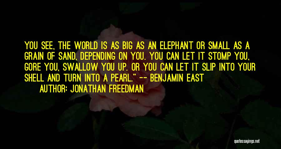 The Pulitzer Prize Quotes By Jonathan Freedman