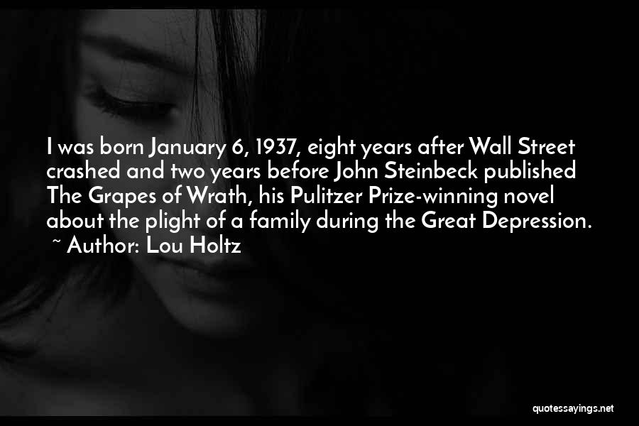 The Pulitzer Prize Quotes By Lou Holtz