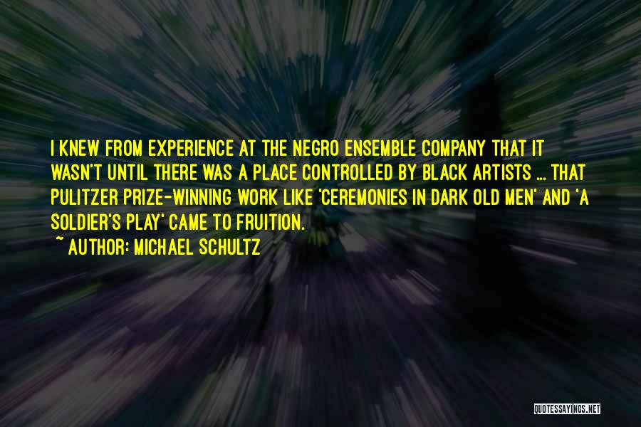 The Pulitzer Prize Quotes By Michael Schultz