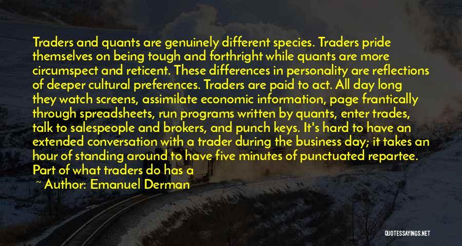 The Quants Quotes By Emanuel Derman
